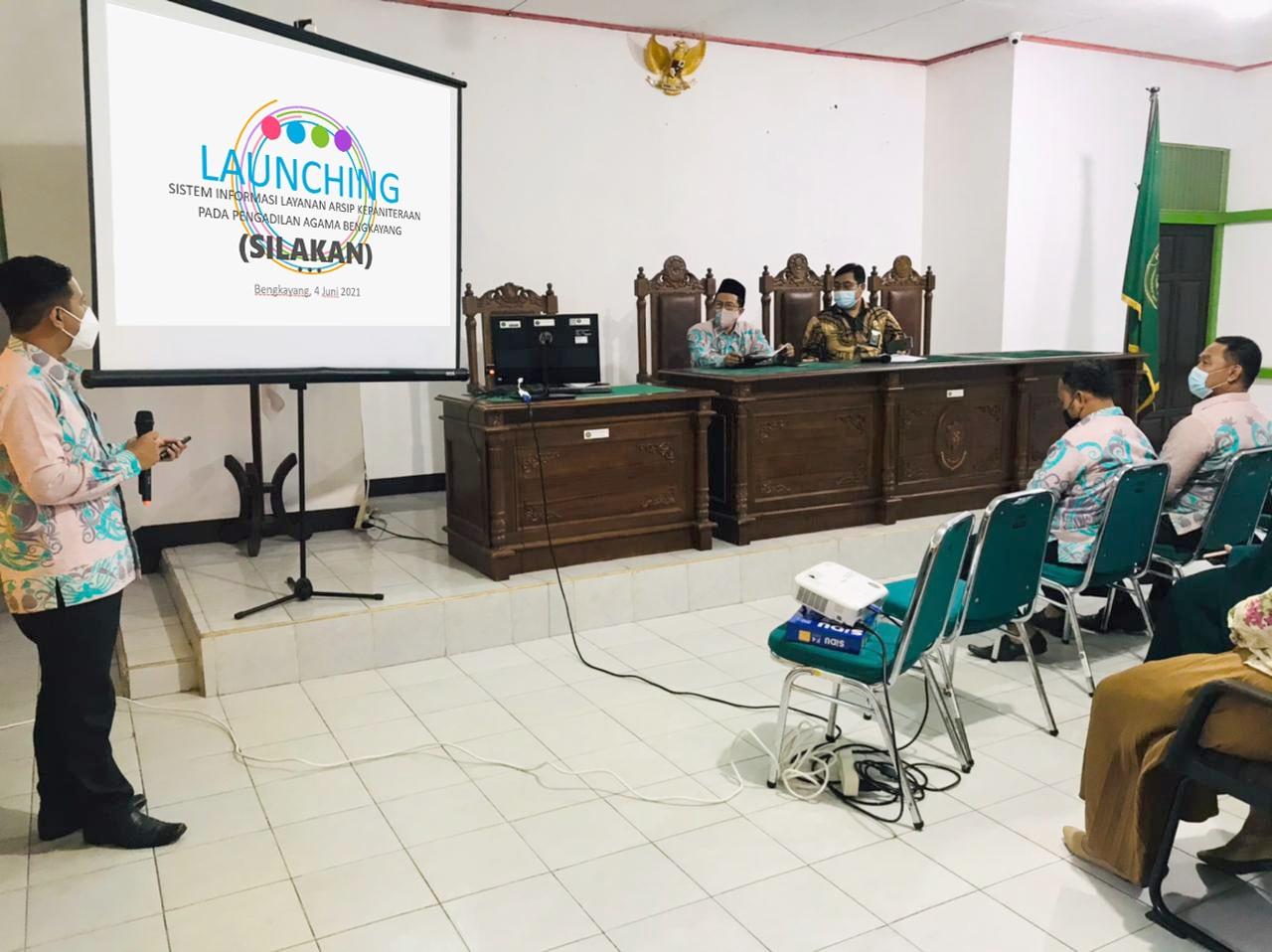 launching silakan1 min